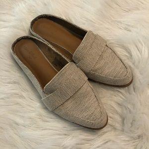 Size 6 1/2 slide on loafers